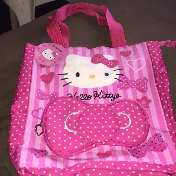 4e4e08423db9 Hello kitty cute bag